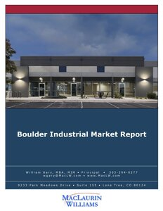 Image of Boulder Industrial Market Report