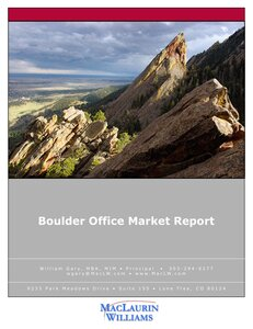 Image of Boulder Office Market Report